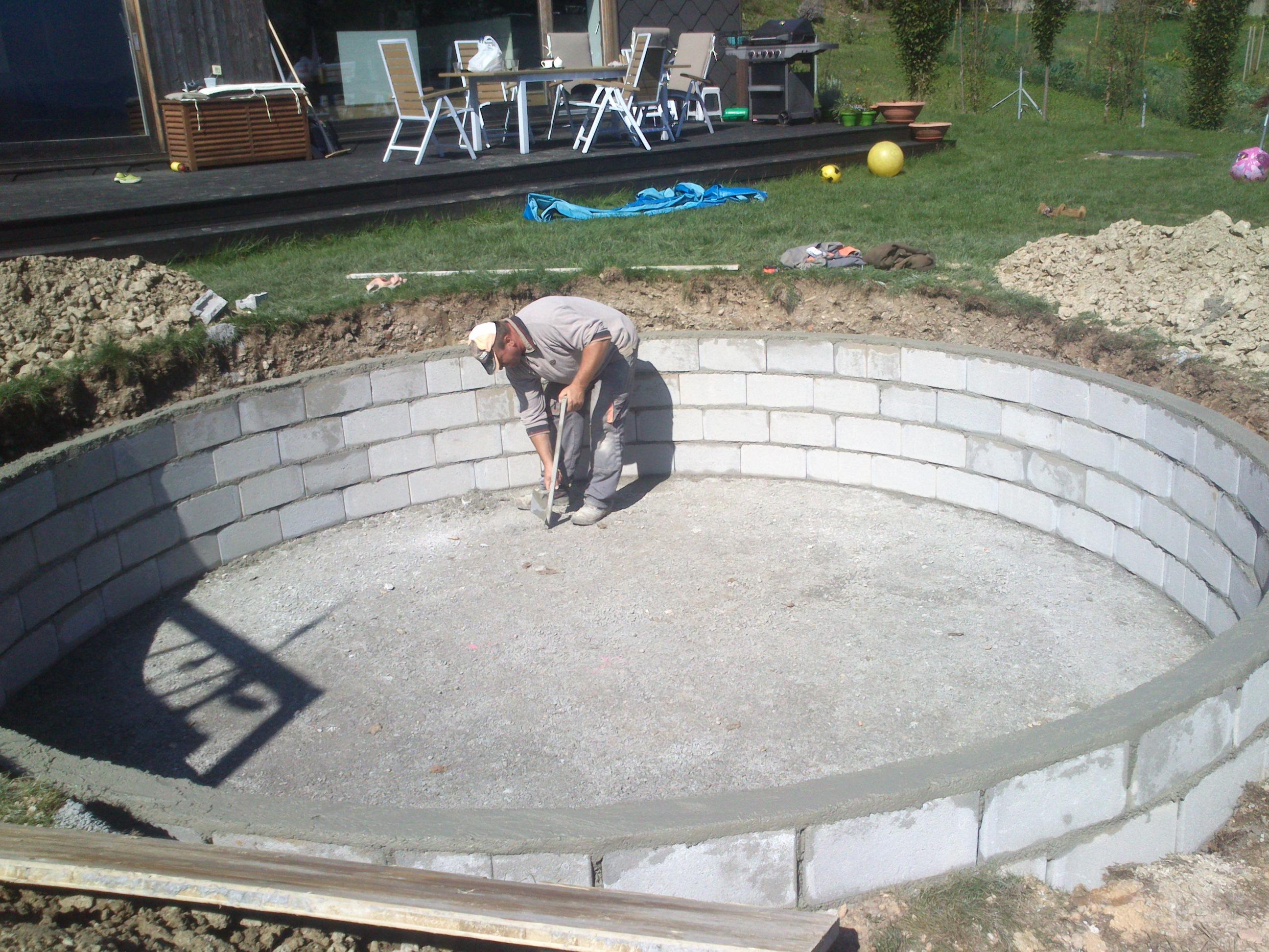 Izdelava bazena