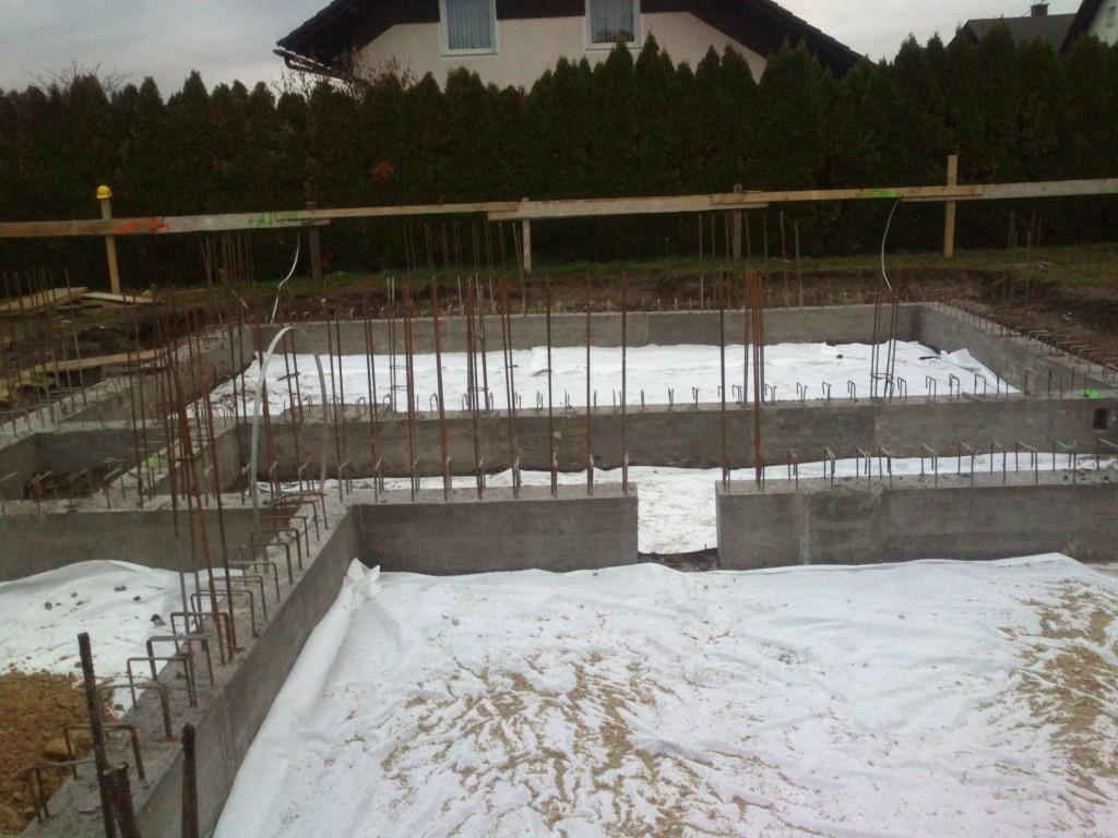 Gradnja temeljev