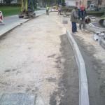 Gradnja pločnika